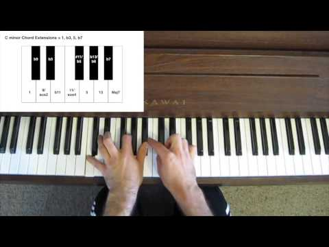 Jazz Piano Tutorial - Chord Extensions & Alterations