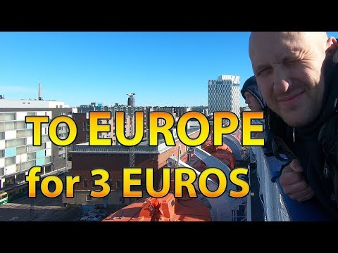 Cheap travel from Russia to Finland and back just for 3€!