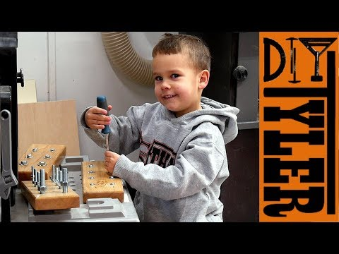 Woodworking Skill Builder Games for Children | How to Make