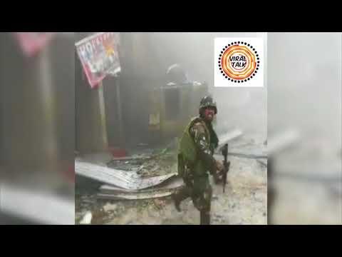 RAW FOOTAGE NG BAKBAKAN SA MARAWI BAGO MAPATAY SI ISNILON HAPILON AT OMAR MAUTE!
