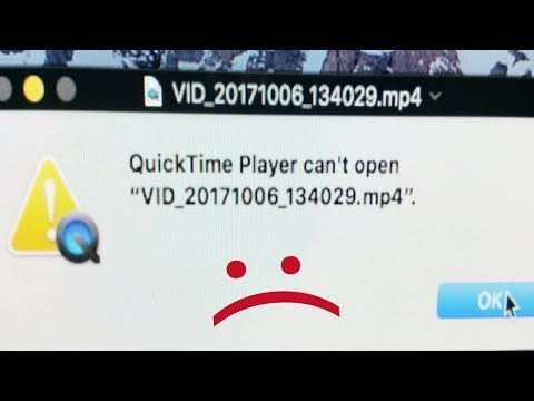 """QUICKTIME PLAYER CAN'T OPEN (NO ABRE)""""20171004_162432.MP4"""""""