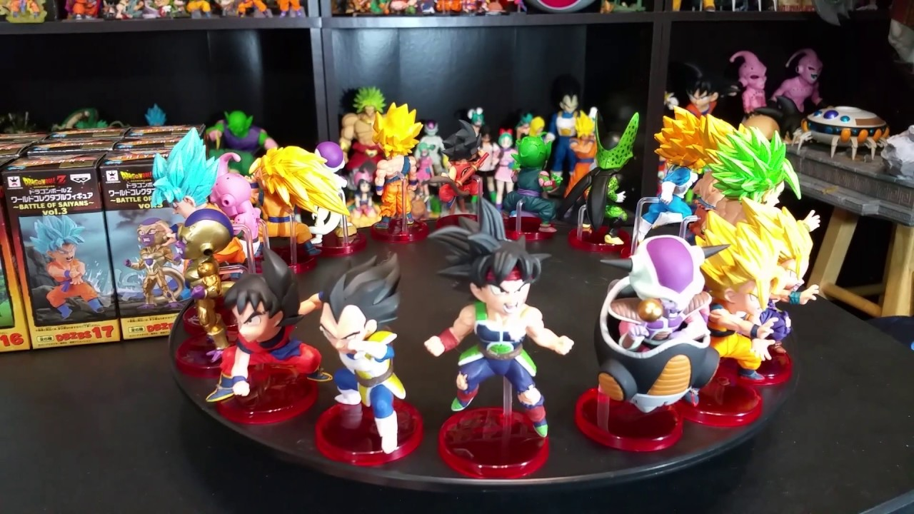 Dragon Ball Z Super WCF World Collectible Figure Battle of Saiyans Vol1 Son Goku