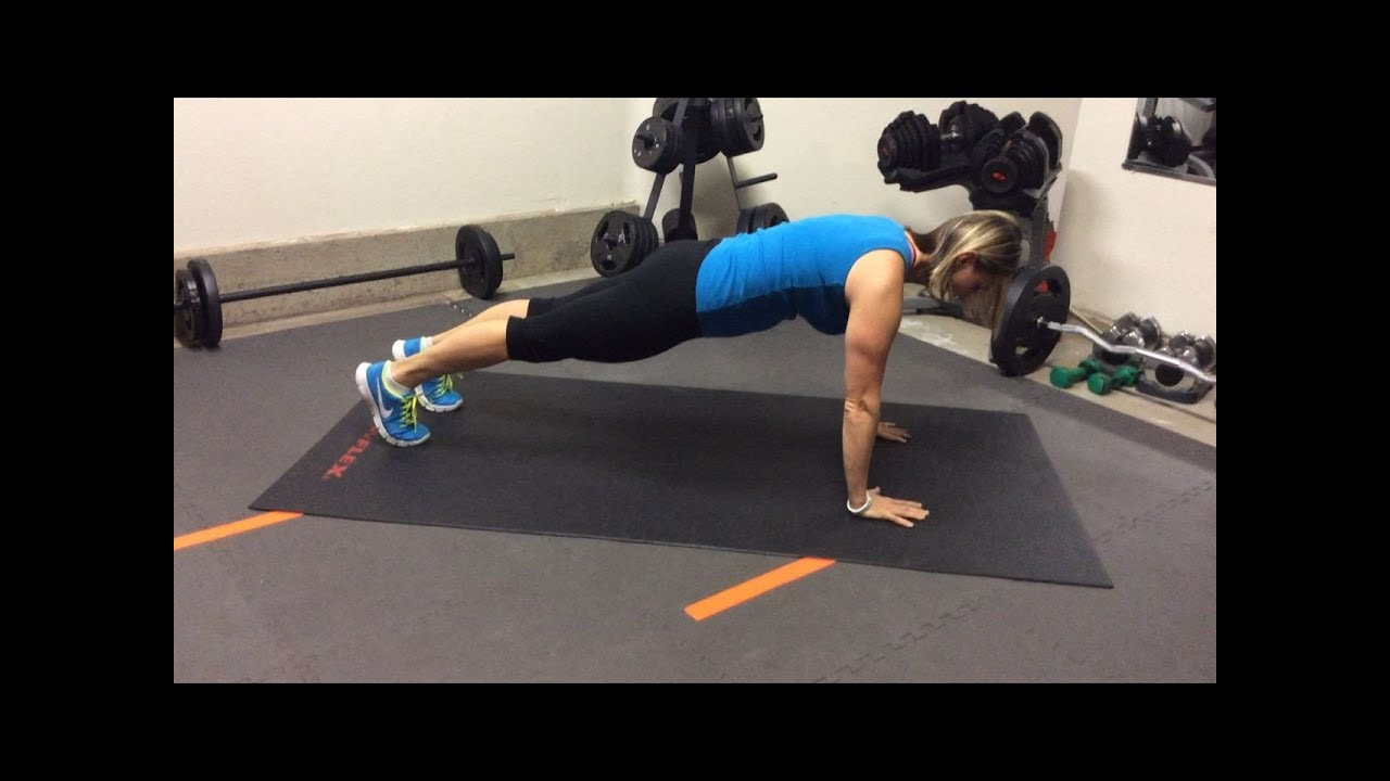 How to improve push ups (even your first one!)