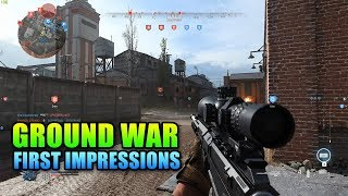 Ground War First Impressions - A Battlefield Killer? | Modern Warfare Beta