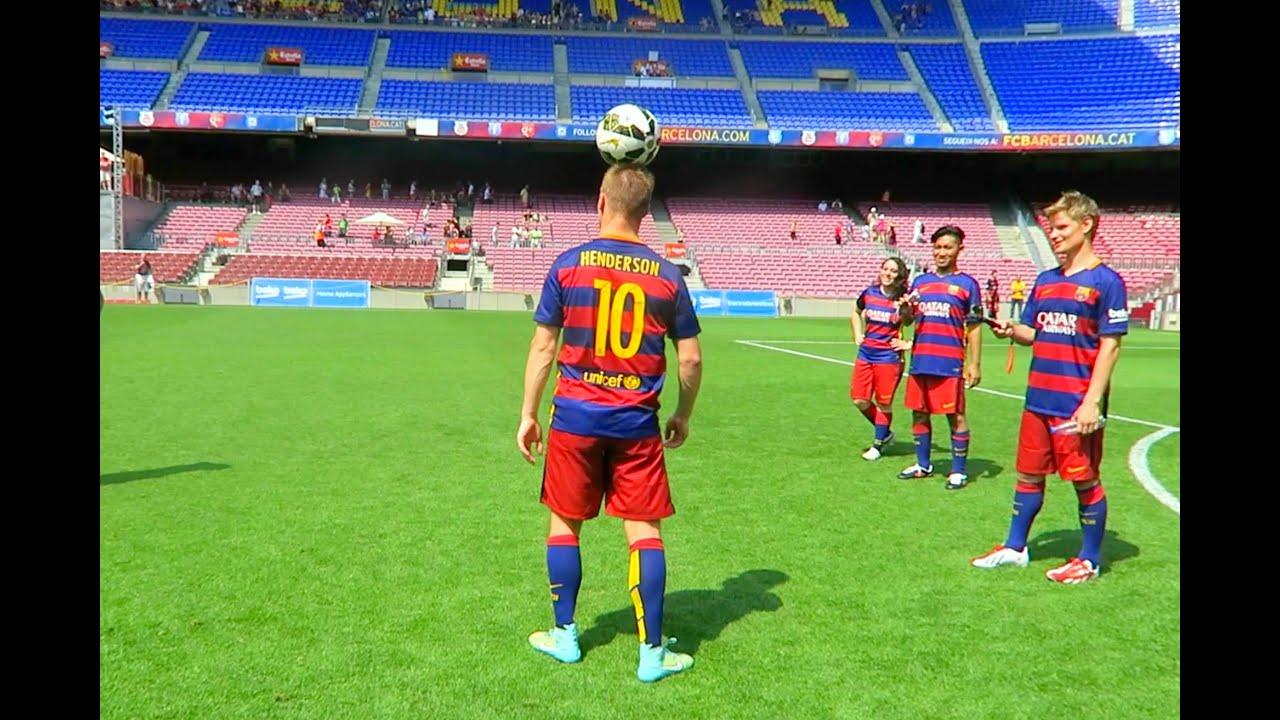 Andrew Henderson Freestyle Football Fc Barcelona