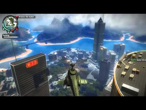 I'm Playing...Just Cause 2...'Above The Law' Mission Walkthrough