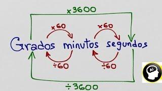 Convertir Grados, minutos y segundos en Sexagesimal y Centesimal