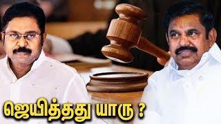 Ravindran Duraisamy about 18 MLA Judgement Case | Interview