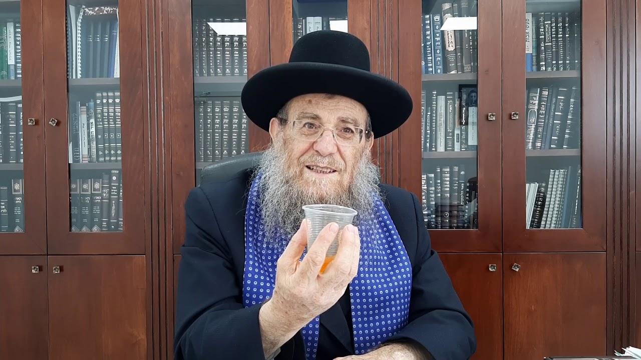 """הגאון הגדול הרב יצחק ברדא שליט""""א - פרשת ואתחנן"""