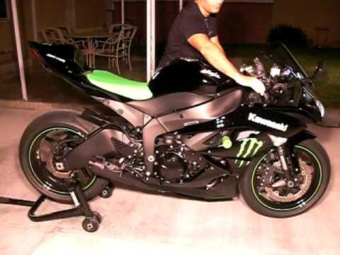 Видео 2006 kawasaki zx6r zx 600 hp