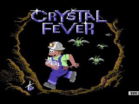 C64 Game: Crystal Fever (second attempt)