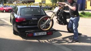 Багажник для мотоцикла HAKR (обзор,установка)
