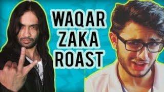 Living On The Edge Best Pakistani Reality show Roadies waqar zaka  (ROAST) Ducky Bhai  carry minati