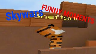 Skywars Funny Moments with Shefty!