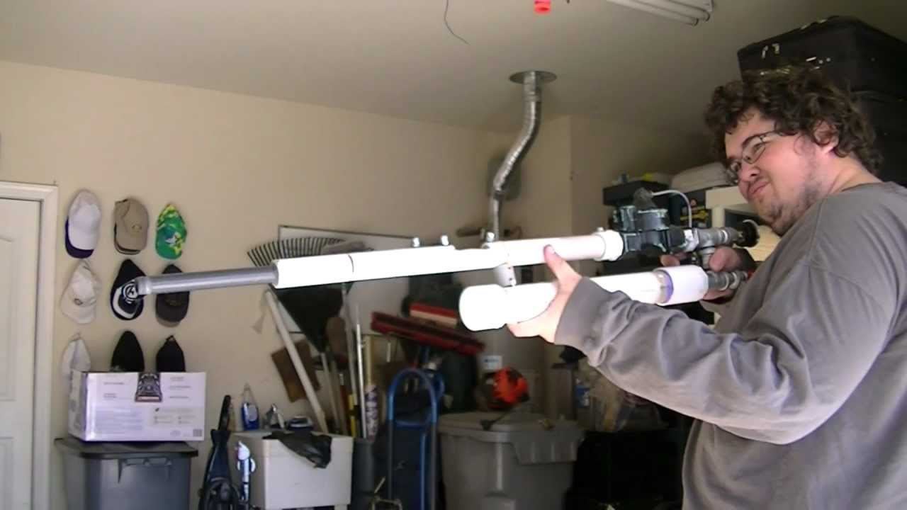 DO NOT Build A Fully Automatic Battery-launching Air Gun
