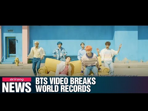 BTS' new video sets 3 Guinness World Records Mp3