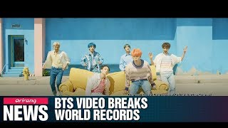 BTS' new video sets 3 Guinness World Records