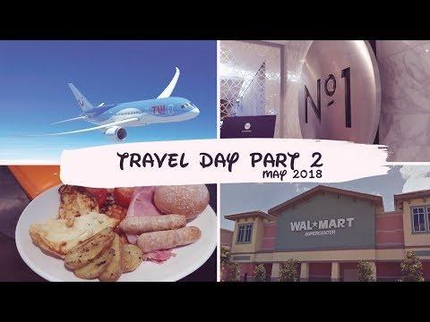 Orlando Florida May 2018 - Travel Day Part 2 - TUI Premium - No1 Lounge & Walmart