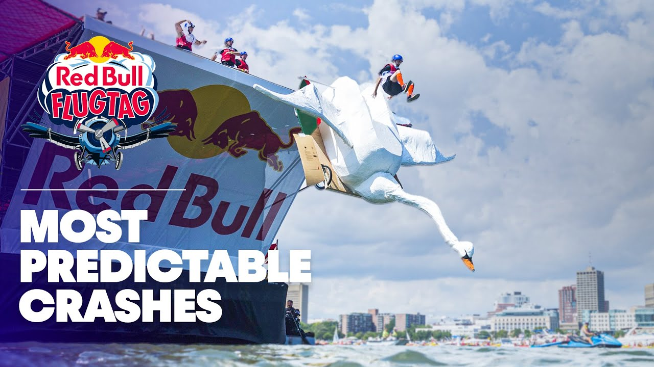 Wacky Man-Made Flying Machines Take Flight in Boston | Red Bull Flugtag 2016