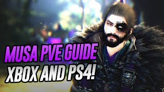 Musa PvE Guide | Black Desert Xbox / PS4