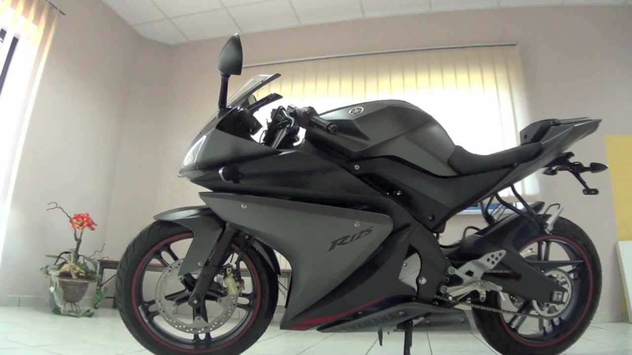 yamaha yzf r 125 modell 2012 youtube. Black Bedroom Furniture Sets. Home Design Ideas