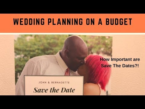 Wedding Planning on a Budget ~ DIY Save The Date Magnets (episode 3)