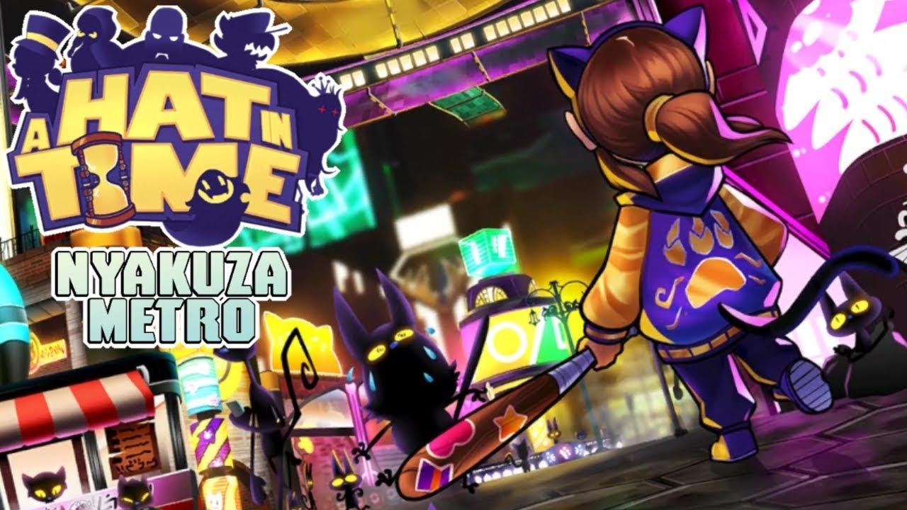 A Hat In Time: Nyakuza Metro | Time Piece Compilation - YouTube