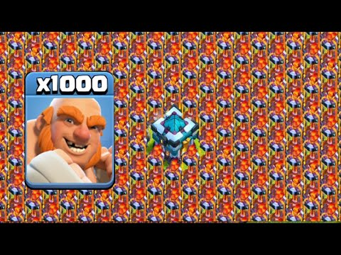 2070 Max Giant VS Full Base Max Inferno Strategy On COC Private Server