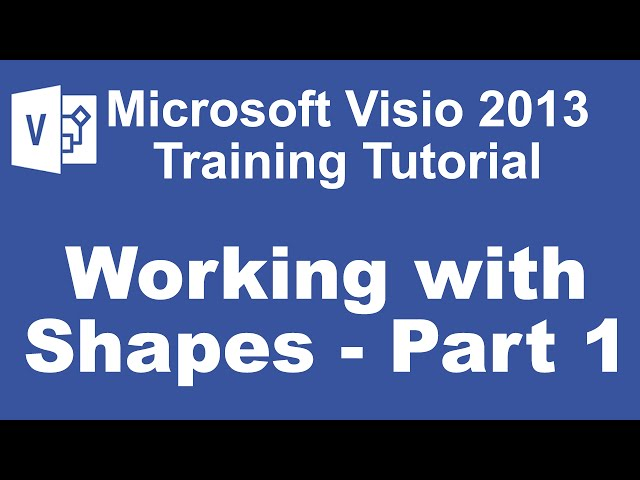 Microsoft Visio 2013 Training