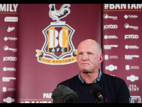 PRESS CONFERENCE | Simon Grayson officially unveiled as new Bradford City manager