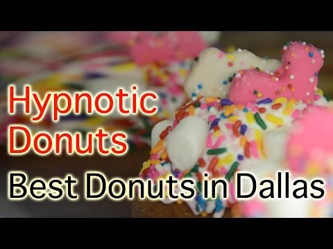 Hypnotic Donuts and Biscuits Donut Shop - Wacky Crazy Wild Donuts