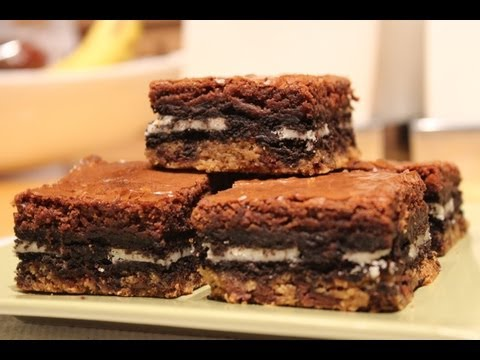 How To Make: Slutty Brownies (Cookie Oreo Brownies)