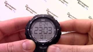Q&Q M102-001 [M102 J001] - Видео обзор и инструкция от PresidentWatches.Ru