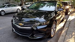 2016/2017 Chevrolet Impala 2.5L LT (196 HP) TEST DRIVE