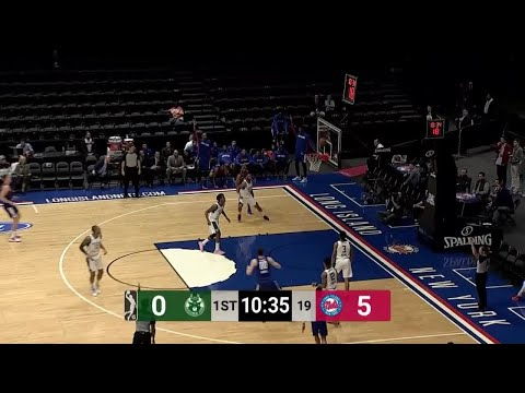 [GLeague] Adrian Wojnarowski's favourite player and fellow St. Bonaventure alum Jaylen Adams drops 27 points on 11-21 shooting (3-7 from 3), 9 rebounds, 7 assists and 2 steals in the Wisconsin Herd's 125-116 win over the Long Island Nets!
