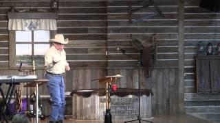 """Matthew 25:1-13; """"Jesus End Times Prophecy"""", 11-02-2014, Cowboy Church of Ennis"""