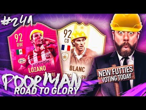 92 LOZANO And 92 BLANC SQUAD BUILDER! NEW FUTTIES VOTE!! - POOR MAN RTG #241 - FIFA 19