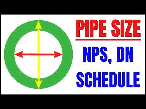 Piping Basic - NPS, DN, Pipe Schedule