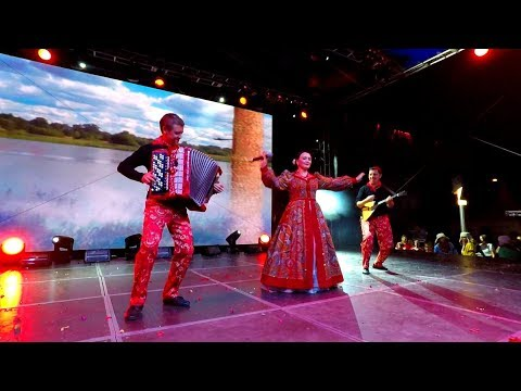 ОЙ ВСТАВАЛА Я РАНЕШЕНЬКО. Концерт клип. Group Dance-Balalaika