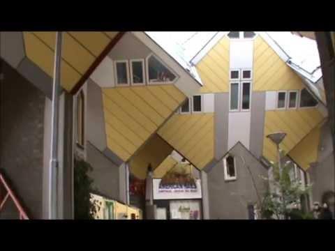 Cube Houses, Wonder Houses - Kubuswoningen Rotterdam - The Netherlands