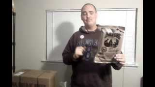 Military Mre Review & Eating - Menu 8 Marinara Sauce W Meatballs