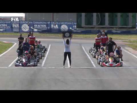 CIK FIA EUROPEAN CHAMPIONSHIP 2017 ROUND 1 KZ FINAL