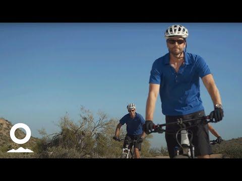 Phoenix Mountain Biking with Arizona Outback Adventures' Brian Jump