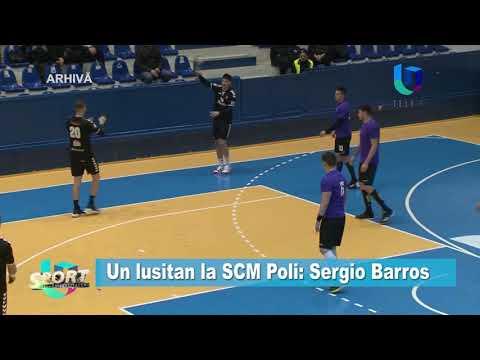 Un lusitan la SCM Poli: Sergio Barros