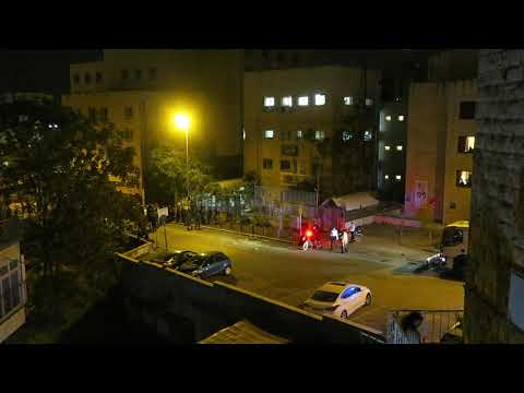 Israeli Police Treating Peaceful Protesters with Cruel Brutality, Jerusalem April 15 /18  Part 1