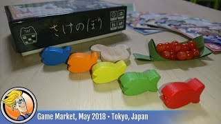 Salmon Run (Kogumayan) — game preview at Tokyo Game Market (May 2018)