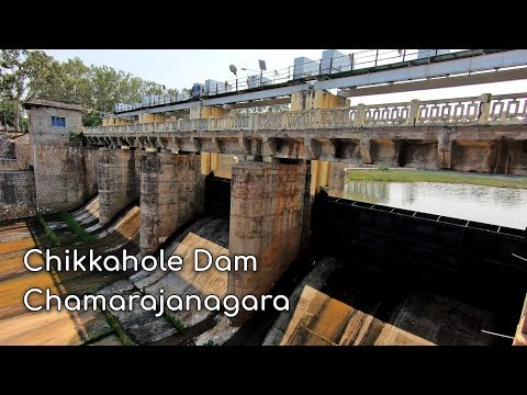 Chikkahole Dam at Attigulipura, Chamarajanagar district of Karnataka