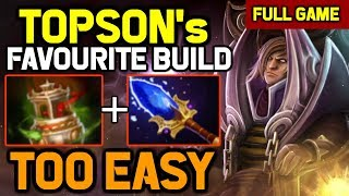 This is Why TOPSON loves This Build - Easy Gank Easy Game