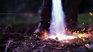 Flame weeding is a great alternative to herbicides and it's way mor...