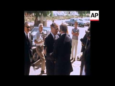 SYND 04/06/1972  JAPANESE ENVOY SEES GOLDA MEIR TO OFFER CONDOLENCES ON LOD MASSACRE
